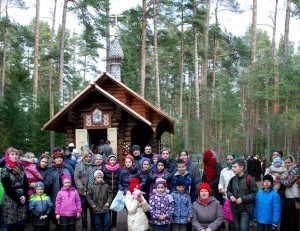 Паломническая поездка в посёлок Вырица